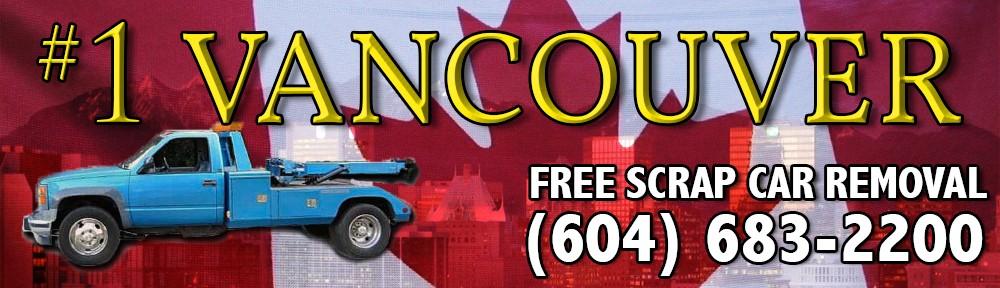 FREE SCRAP CAR REMOVAL VANCOUVER BC 604-683-2200 VANCOUVER JUNK